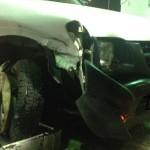 מכונית לפירוק בעיה בפרונט