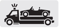 גרירה והעברת רכבים לפירוק ברחובות