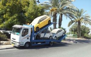 הורדת רכב מהכביש