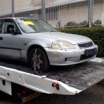 פינוי רכב מפגע עירוני למגרש פירוק רכבים