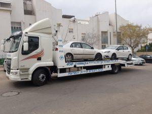קניה של 2 רכבים לפירוק